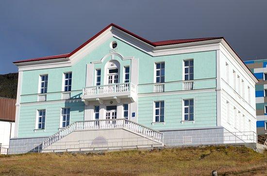 Barentsburg, Norwegia: Галерея расположена в бывшем здании консульства СССР на Шпицбергене.
