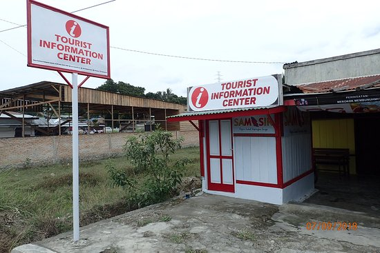 Pangururan, Indonesien: Closed when we arrived