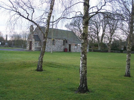 Cupar, UK: The Hall is set in its own grounds.