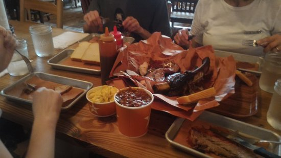 Hill Country Barbecue Market: Ciccia varia