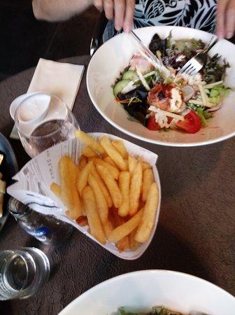Wervik, Belgien: frietjes