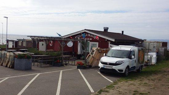 Vejbystrand, Suécia: Ingångssidan