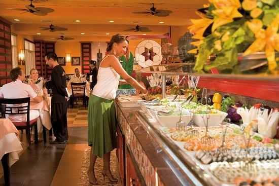 Helpful information photo nirvana asian restaurant riu vallarta did not