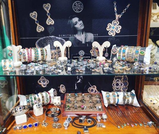 Byzantine Jewelry - Picture of Aphrodite Jewelry, Athens - TripAdvisor