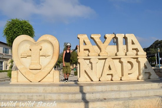 I Love Ayia Napa Sculpture