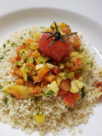 Le Clarisse Levanto: Per vegetariani Couscous con verdure