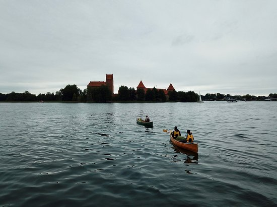 Tour near the Trakai Castle