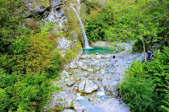 Storo, Italy: cascata