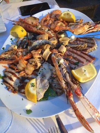 Fritto Misto Di Pesce Picture Of Ristorante Pizzeria Gourmet Santo