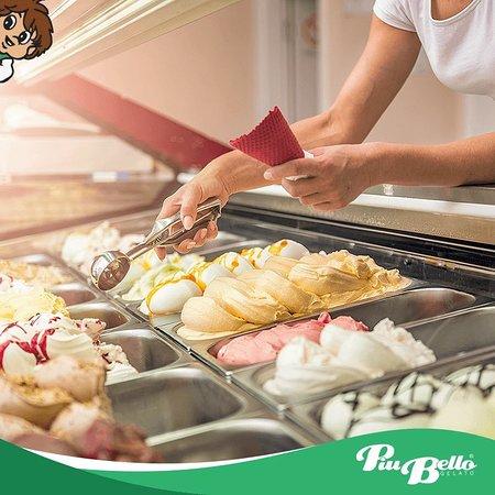 Piu Bello: Delicious Gelato and Sorbets!!!