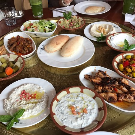 First meal in Amman