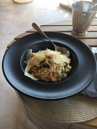 Theros Wave Bar: TWB 20 Veg risotto