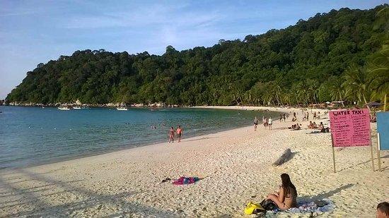 Perhentian Islands, Malaisie : Perhentian Besar, spiaggia PIR, la più bella
