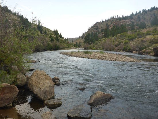 Canyon section of the Arkansas River - Picture of ArkAnglers