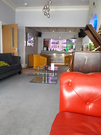 Front room of the kenley and bar
