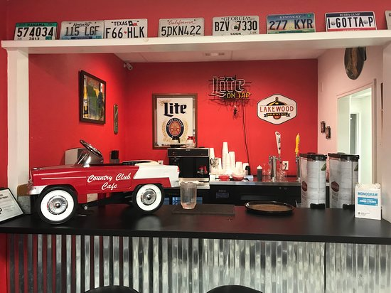 Wylie, TX: Side room bar