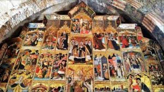 Anento, Spain: Retablo Iglesia