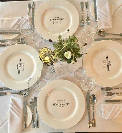 Chester, Kanada: table settings