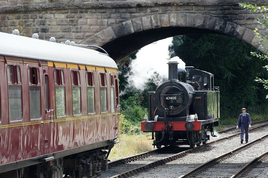 Ecclesbourne Valley Railway at Wirksworth