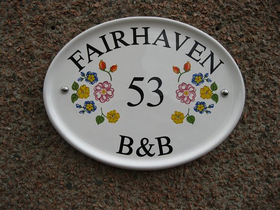 Fairhaven B&B: Welcome to Fairhaven BnB
