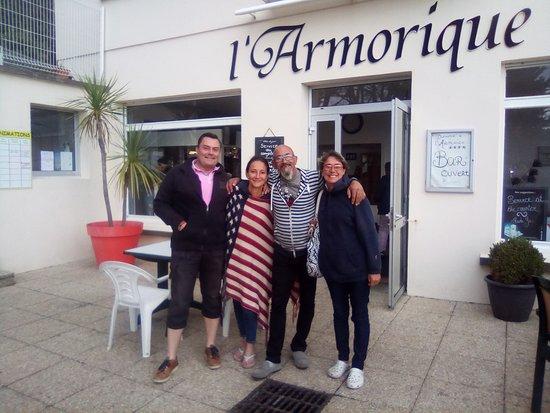Telgruc-sur-Mer, Frankreich: avec les proprietaires