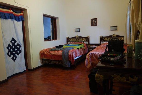 Jim's Tibetan Hotel: De kamer
