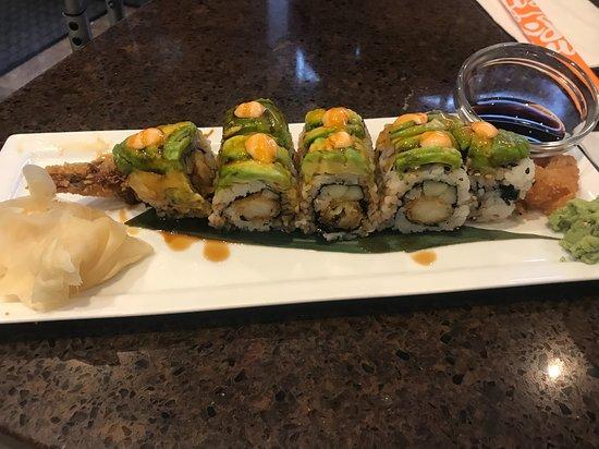 Sushi Maki: greasy and sugary