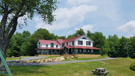 Irondequoit Inn after 2016-2018 renovations - spectacular view of Piseco Lake, remodeled lodge r
