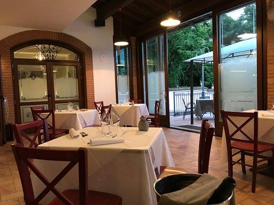 Miradolo Terme, Italia: Veranda