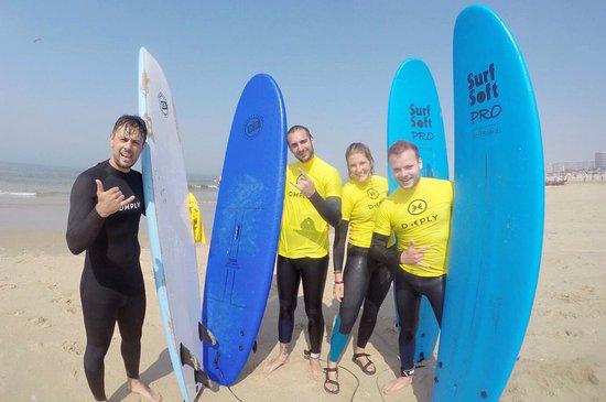 Linha de Onda: Surf crew