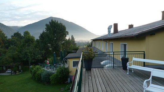 Puchberg am Schneeberg, Austria: Terrasse
