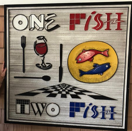 One Fish-Two Fish: Cool signage