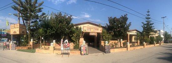 Garden Of Eden The Real Shisha House Laganas Restaurant