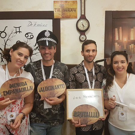 El Palmar, Spain: The Shadow Escape Room