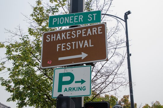 Oregon Shakespeare Festival: Sign