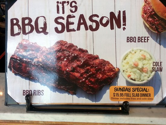 Harwood Heights, IL: BBQ special