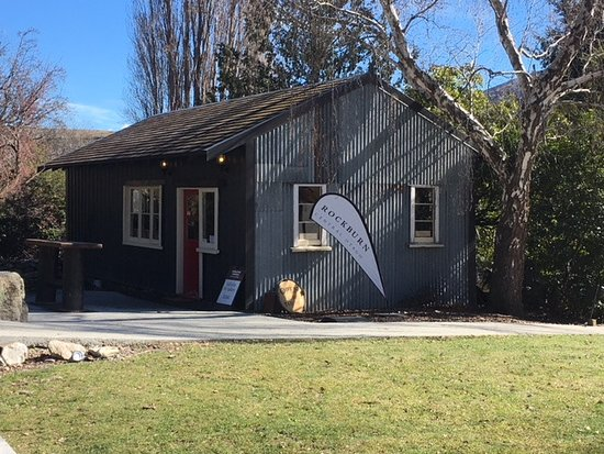 Gibbston, New Zealand: Rockburn Cellar Door