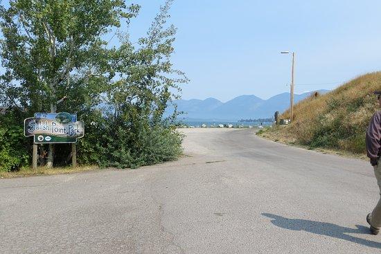 entrance, Point Salish Park, Polson, MT