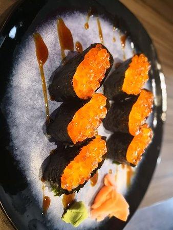 Super Sushi eoufs saumon