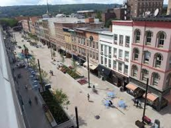 Downtown Ithaca The Commons Is Home To Dozens Of Independently Owned And Operated S