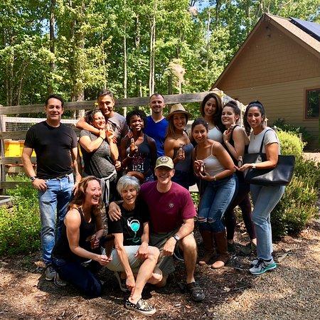 Lake Toxaway, Kuzey Carolina: GROUP PHOTO!