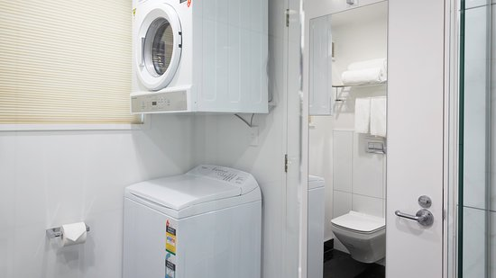 Washing Machine Dryer For Your Convenience Picture Of Delorenzo S Studio Apartments Nelson Tripadvisor