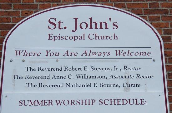 St. John's Episcopal Church: Welcome