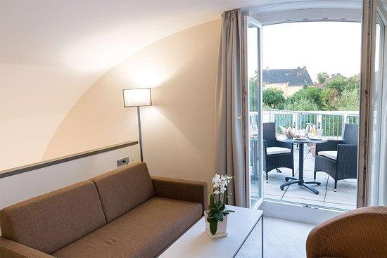 Bad Arolsen, Germania: Junior suite superior with roof terrace
