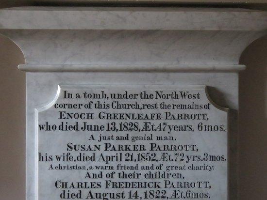 St. John's Episcopal Church: original members