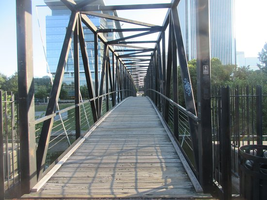 Canal Walk: A bridge across the canal