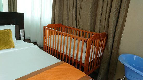 Park Regis Singapore: baby amenities