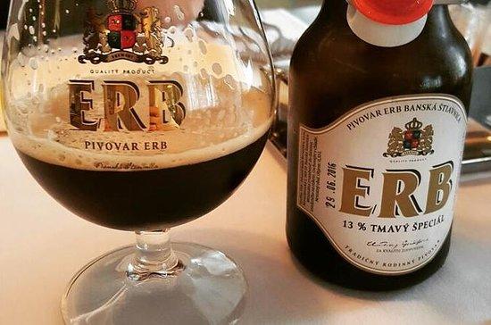 Visite de la bière et de la...