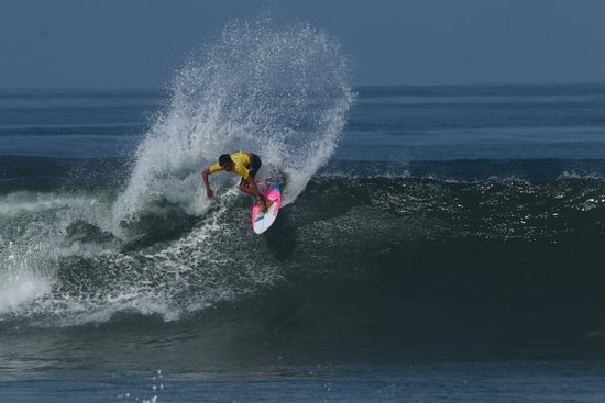 Surfing Activity in Medewi