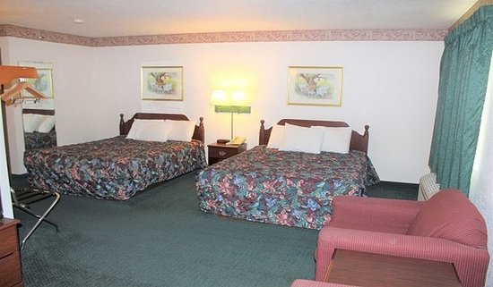 Cumberland, Висконсин: Guest room